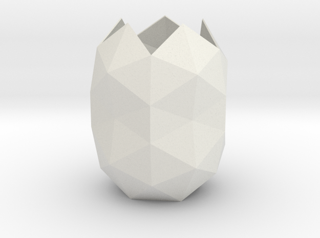 gmtrx lawal pentakis dodecahedron cocoon design in White Natural Versatile Plastic