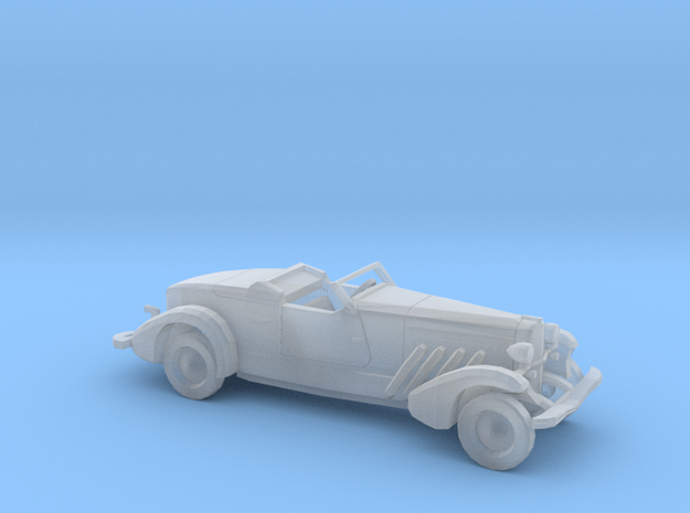 1/160 1935 Duesenberg Style Boattail Open Conv.Kit in Smooth Fine Detail Plastic