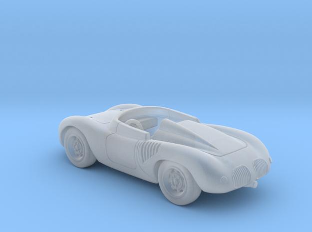 Porsche 718 1959 1:120 TT in Smooth Fine Detail Plastic