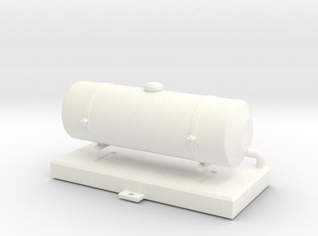 FA20008 Fuel Tank (Tamiya Wild One, FAV) in White Processed Versatile Plastic