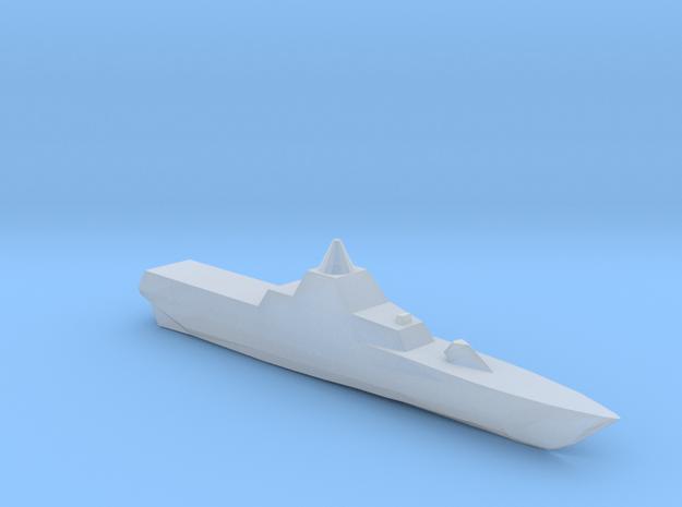 Swedish Visby class corvette 1:2400 full hull in Smooth Fine Detail Plastic