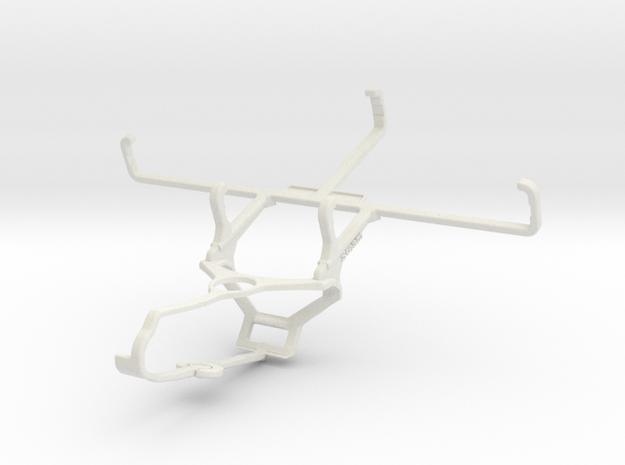 Controller mount for Steam & Ulefone Armor 8 Pro - in White Natural Versatile Plastic