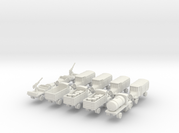 1:160 Daimler Marienfeld in White Natural Versatile Plastic