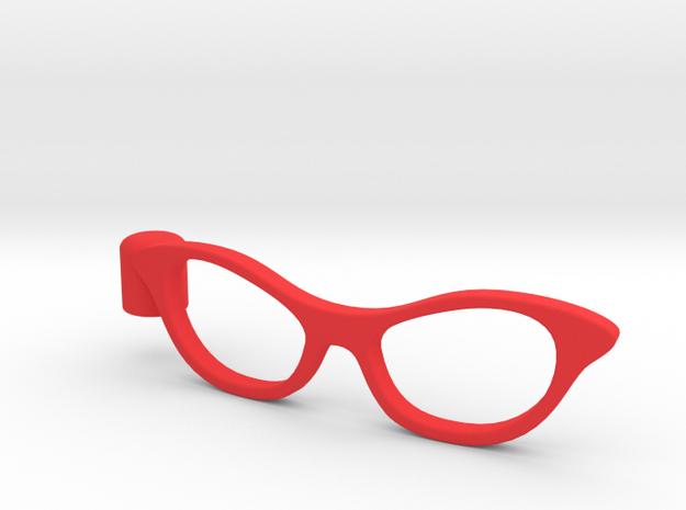 Glasses Penciltop: The Librarian 3d printed
