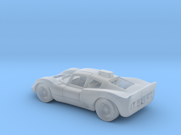 Chaparral 2D 1966 1:120 TT in Smooth Fine Detail Plastic