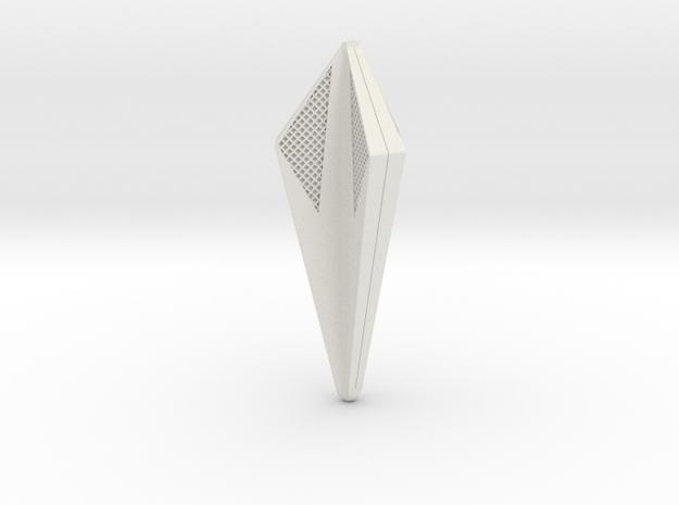 350 Tholian Webspinner  in White Natural Versatile Plastic