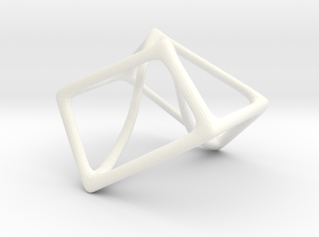 Escher's Impossible Cube 3d printed