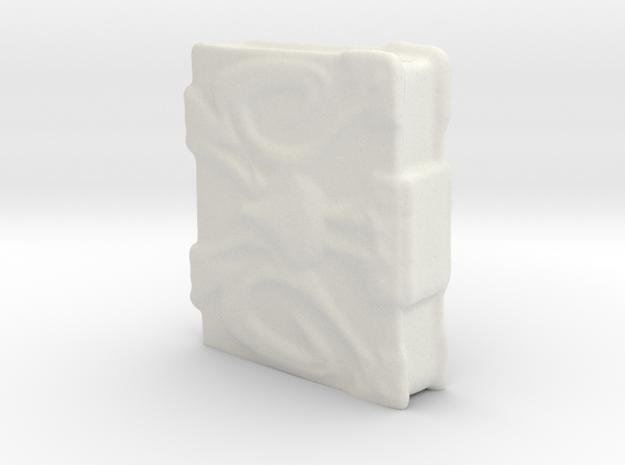 Shadow Weaver Book in White Natural Versatile Plastic
