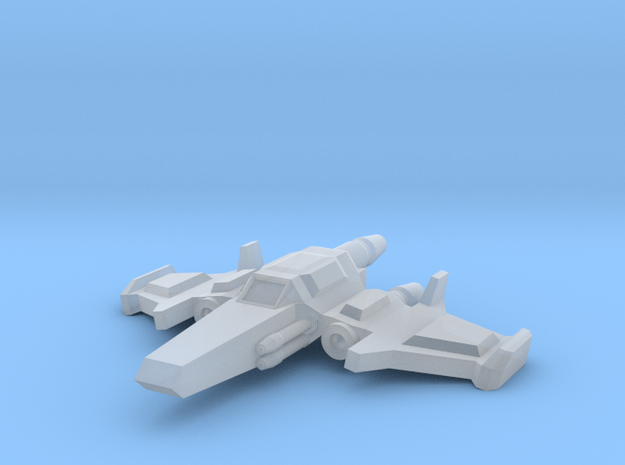 Mavon Superiority Fighter in Smooth Fine Detail Plastic