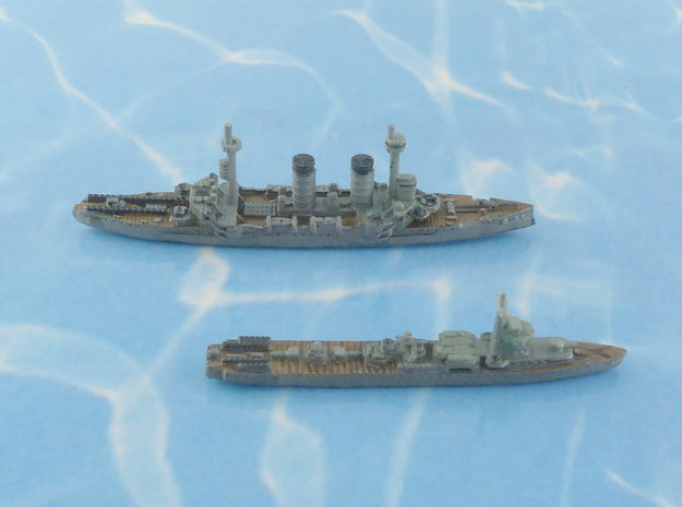 IJN MInelayers I 1/2400 in Smooth Fine Detail Plastic