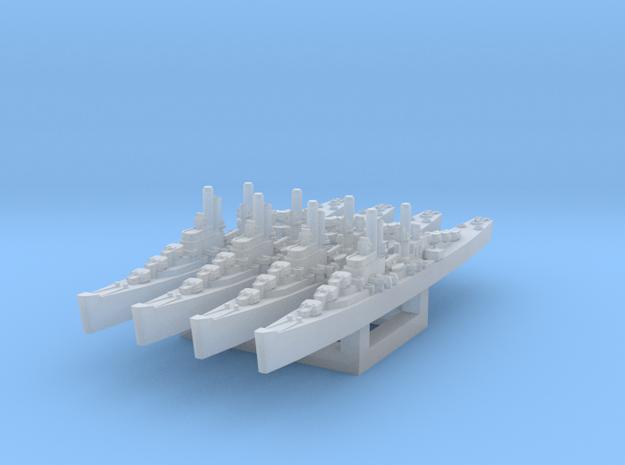 Atlanta class cruiser in Smooth Fine Detail Plastic