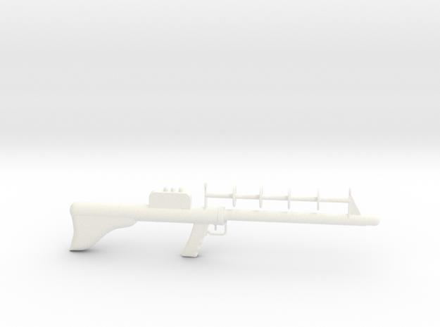 Lost in Space Season 1 Laser Rifle 1:6 Scale in White Processed Versatile Plastic
