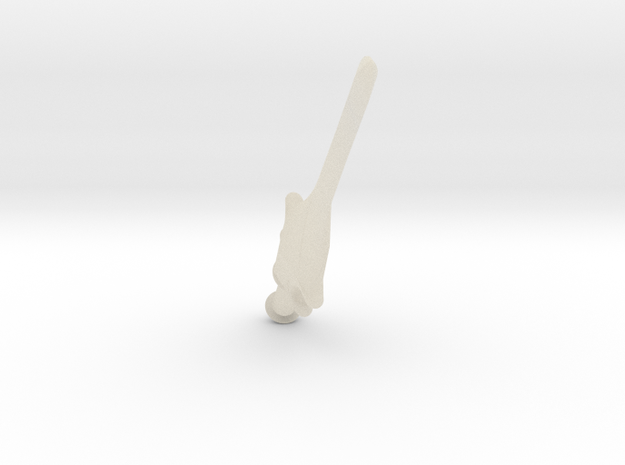 Little Sword of Power 3d printed