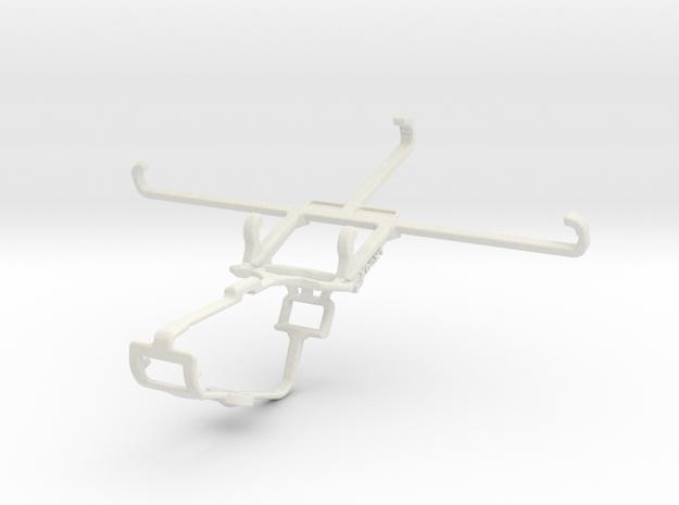 Controller mount for Xbox One & Oppo Reno6 Z in White Natural Versatile Plastic