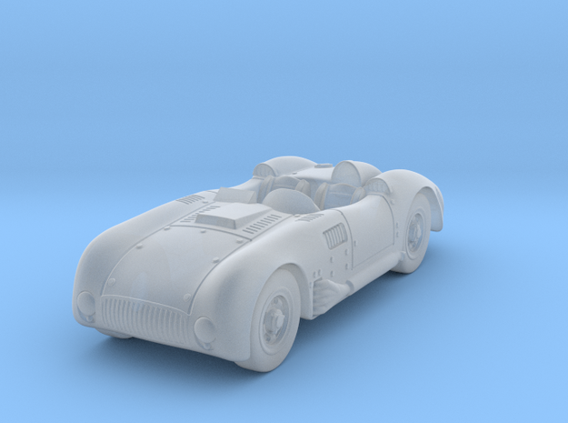 Kurtis 500 S 1:87HO in Smooth Fine Detail Plastic