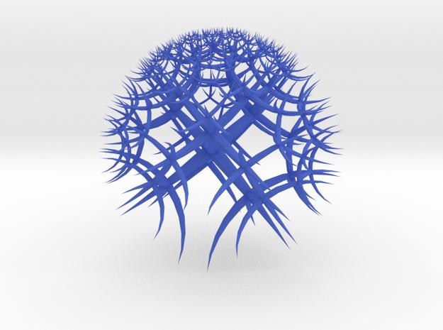 Hyperbolic Tiling 3d printed