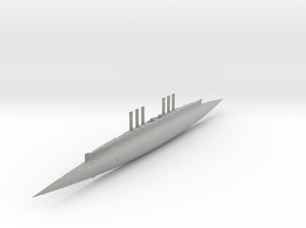 3000-Ton (Half Hull A) 3d printed