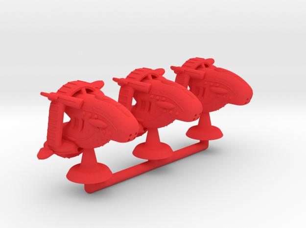 Agrippa Type II Battler - 1:20000 in Red Processed Versatile Plastic