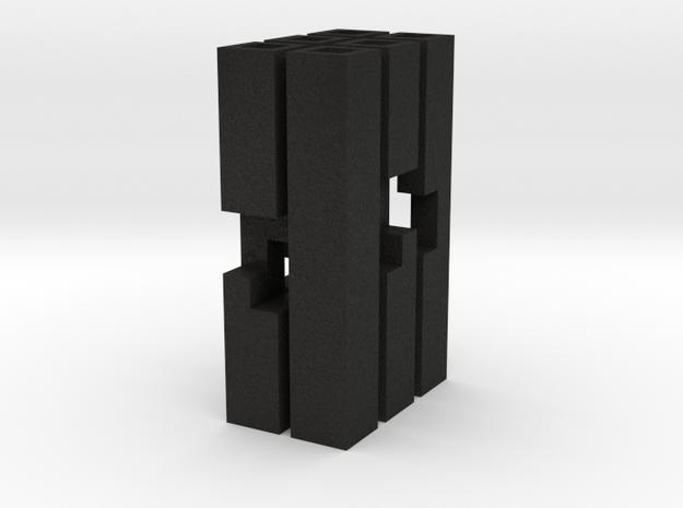 Triple Cross Puzzle (S) 3d printed