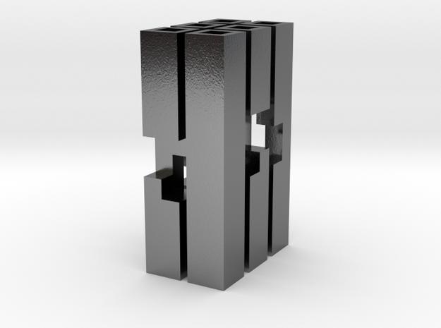 Triple Cross Puzzle (L) 3d printed