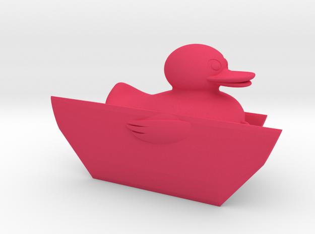 Duck Fishing Board in Pink Processed Versatile Plastic