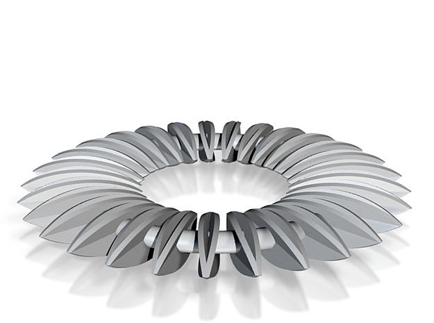 Calatrava Jewellery forms 139 80mm dia pendant 3d printed