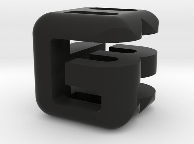 G E B lower (3x3x3) 3d printed