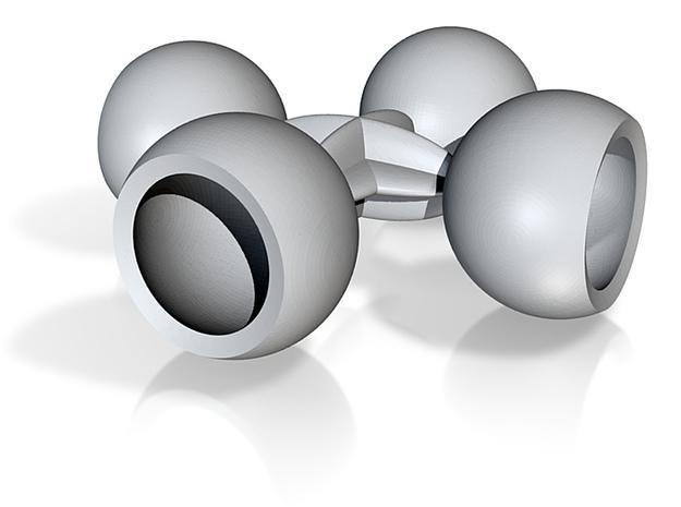 4 socket balls 10mm 3d printed