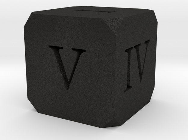 Hollow Dice Roman 3d printed