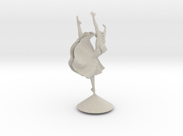 Joyful Dancer  3d printed