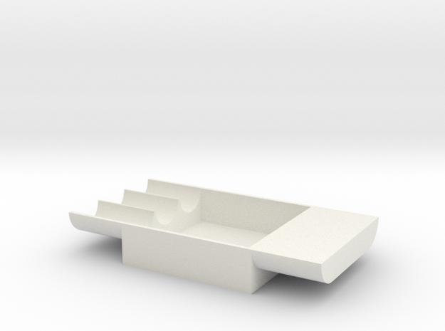 Besselheim plate (10 cm) in White Natural Versatile Plastic