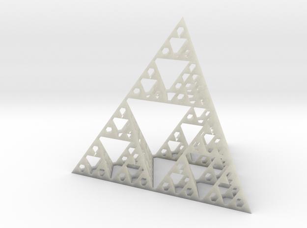 4 cm Sierpinski pyramid 3d printed