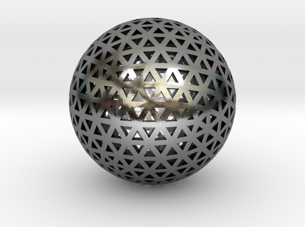 Triangular Ball Mesh from TopMod 3d printed
