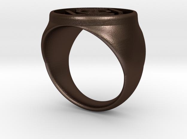 Indigo Tribe Ring (21) 3d printed