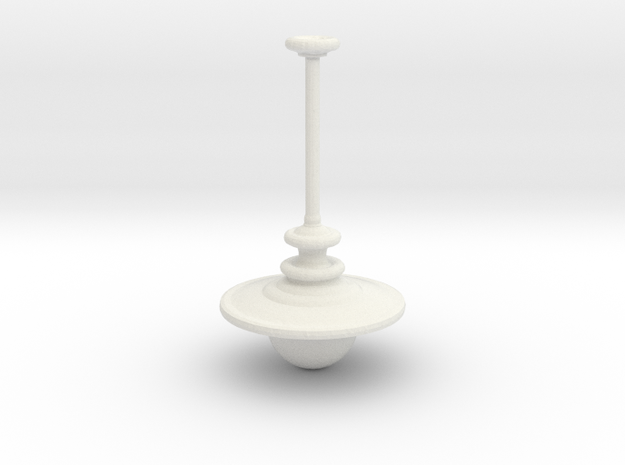 1:25 Hanging Lamp in White Natural Versatile Plastic