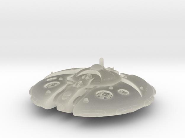 Martian Overlord class Battleship 3d printed
