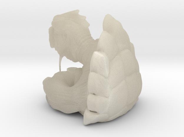10cm mack turtle 3d printed