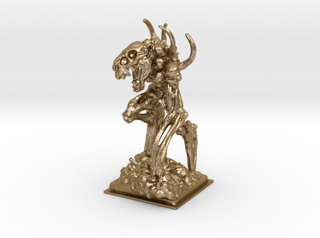 Bone golem miniature 77mm 3d printed