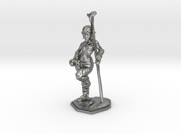 elven healer 39mm miniature 3d printed