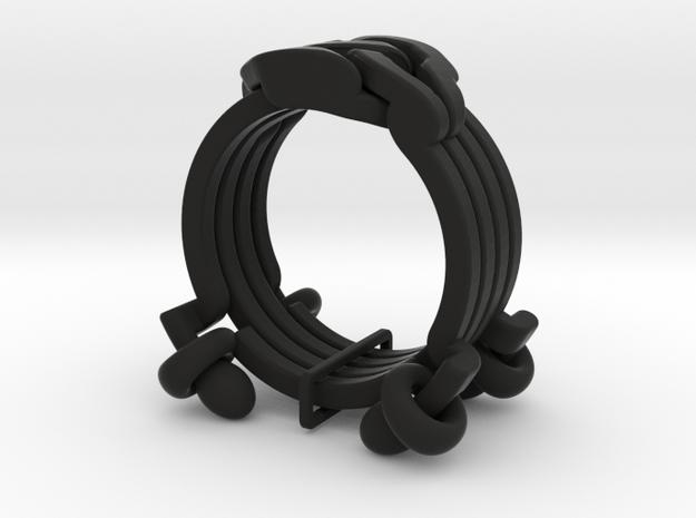 Cross Rings 3d printed