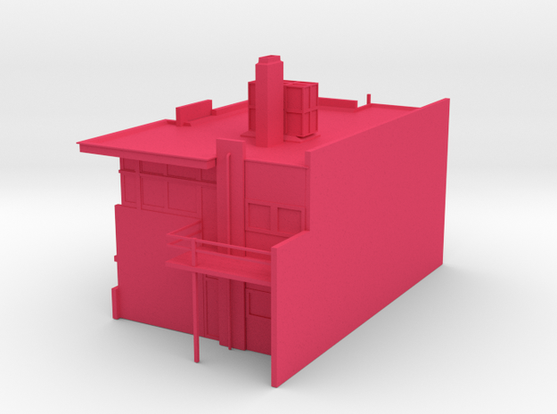 Rietveldhuis 3d printed