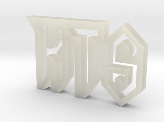 My Logo 3d printed