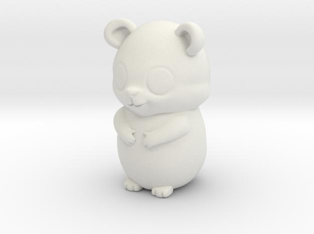 bear  in White Natural Versatile Plastic