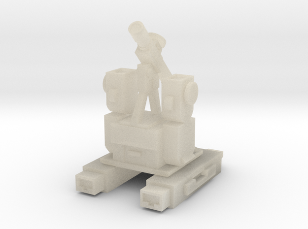 Perceptor WST Non-transforming Part 2 of 3 3d printed
