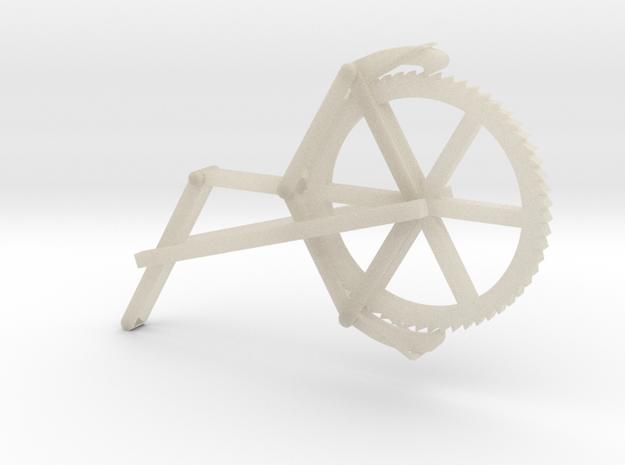 An escapement drive 3d printed