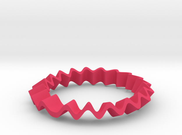 Crazy Ring 3d printed