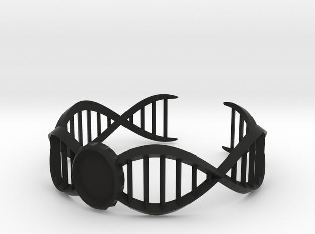 DNA Bracelet -v2 Large (10cm) 3d printed