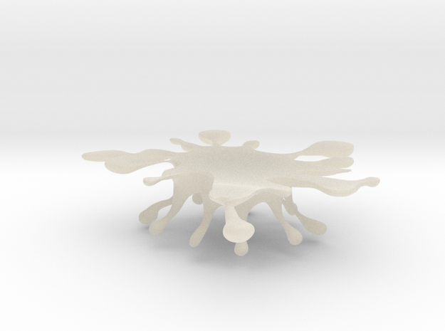 Water Crown Chopsticks stand 3d printed