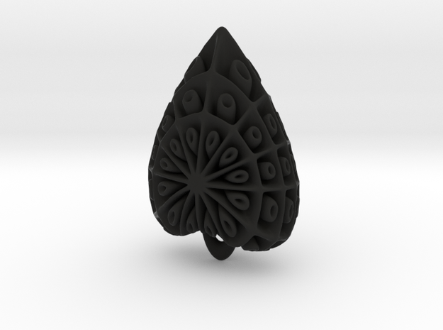 droplet earring-4 3d printed