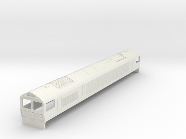 Mendip Rail Ltd Class 59/0 in White Natural Versatile Plastic